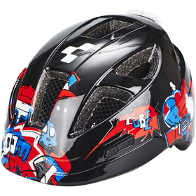 Cube Lume Casque Enfant, black grafitti